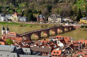 Heidelberg view from the castle