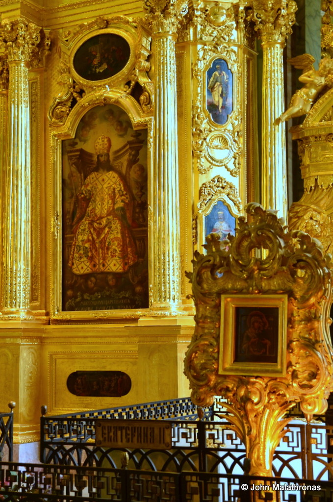 The tomb of Empress Catherine II, The Great