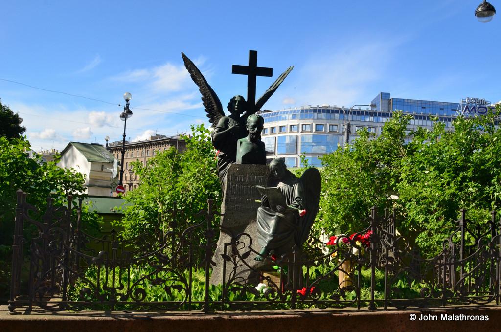 Tchaikovsky's grave St Petersburg