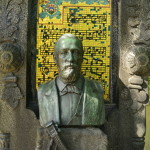 Borodin's grave and a musical phrase from Prince Igor