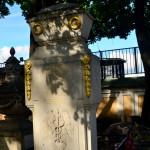 Lomonosov's grave St Petersburg