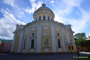 Alexander Nevsky monastery - the Trinity church