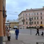 Raskolnikoff's walk to kill the old lady moneylender - down S-Place