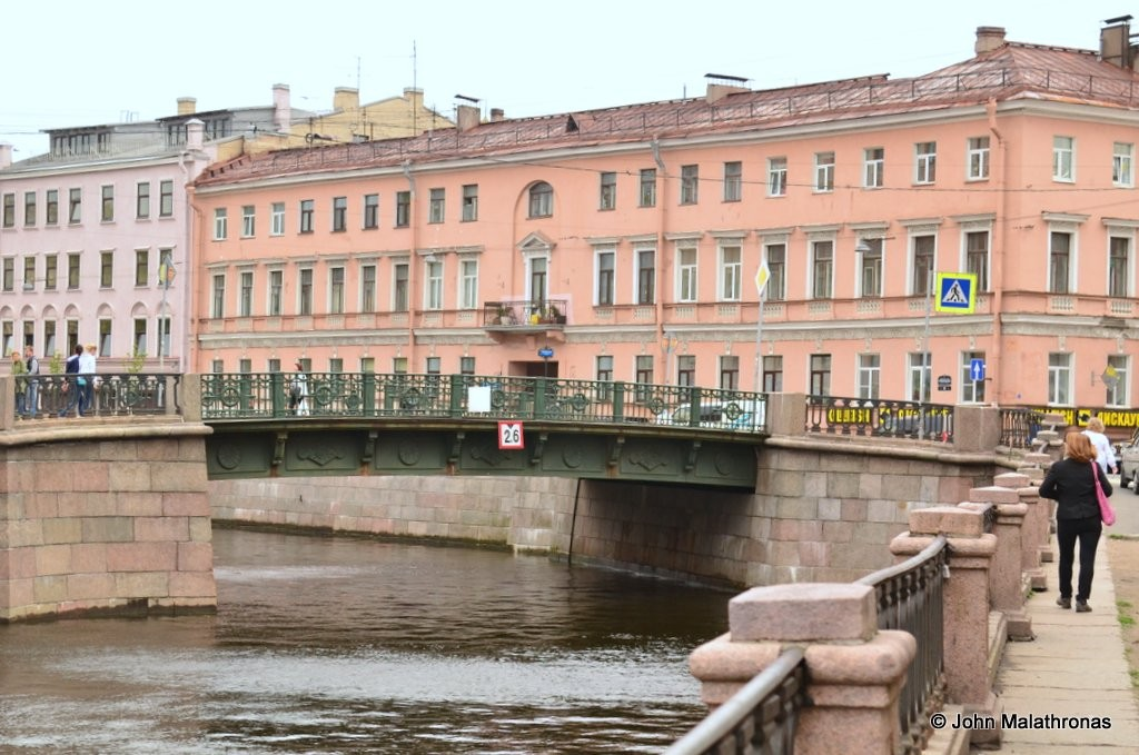 After the crime Raskolnikoff returns via the Griboedov canal