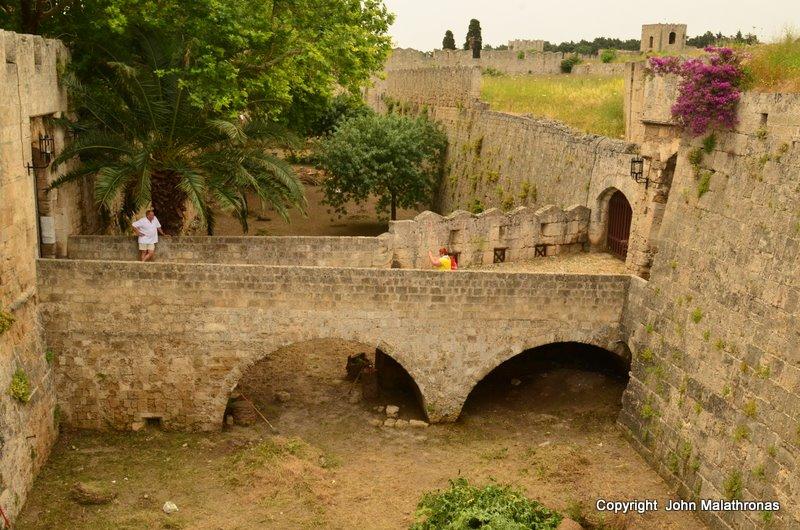 Second moat after d'Amboise gate