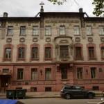 The Nabokov paternal house in St Petersburg
