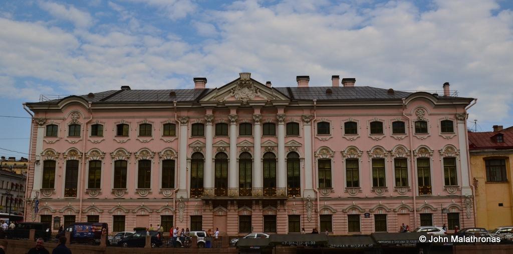 Stroganoff Palace, St Petersburg