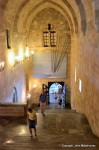 Monumental staircase, palace of Grand masters, Rhodes