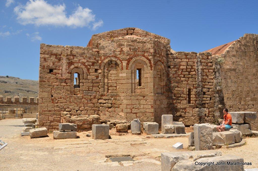 The church of St John, Lindos