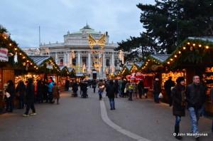 Christmas market, Vienna, Wiener Christkindlmarkt, Rathaus