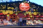 Drink stand for Gluhwein and Punsch, Wiener Christkindlmarkt, Rathaus Vienna