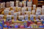 Christmas, wax, candles,