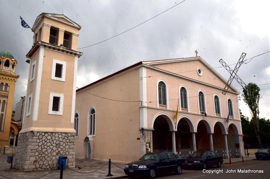 St Andrew's 1830s Basilica in patras Greece
