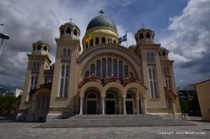 St Andrew's New Church patras, Greece