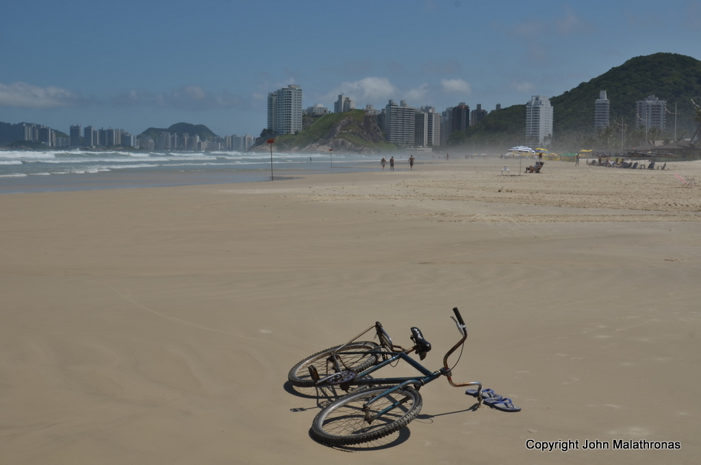 Bicycle Guaruja beach