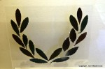 copper laurel leaves Olumpia museum