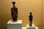 Small vase and figurine stolen in November 2012 from the Olympia museum