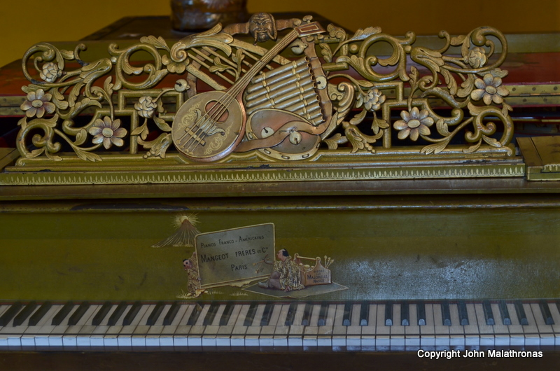 Art nouveau piano nancy