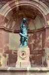 Le jeune vigneron – a statue of Bartholdi in Colmar