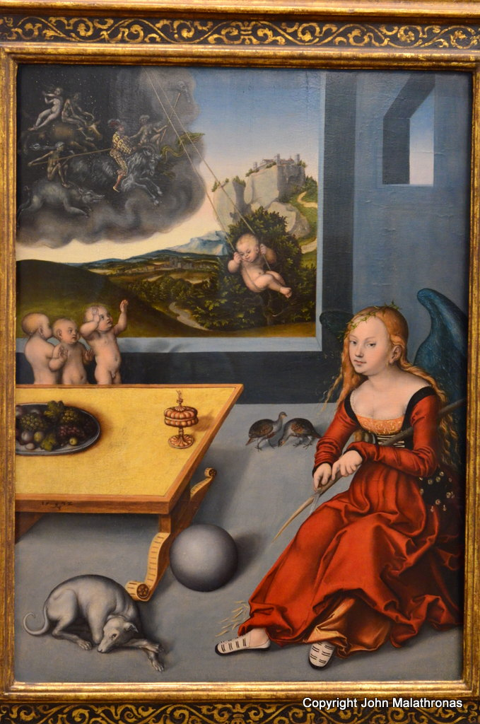 Melancholia (1532) by Lucas Cranach the Elder