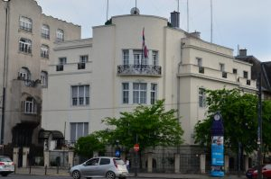 The Serbian Embassy at Heroes' Square