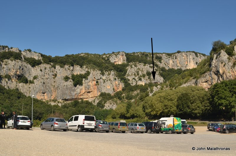 Chauvet cave from the carpark