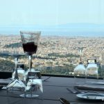 View from Orizontes Restaurant, Lycabettus