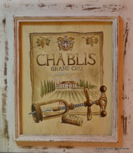 Chablis poster