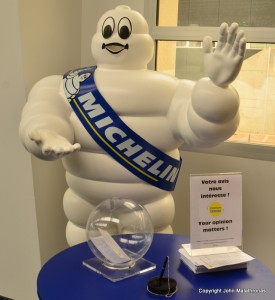 Michelin man in the Michelin Adventure museum, Clermont-Ferrand