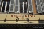 Relooking sign in France