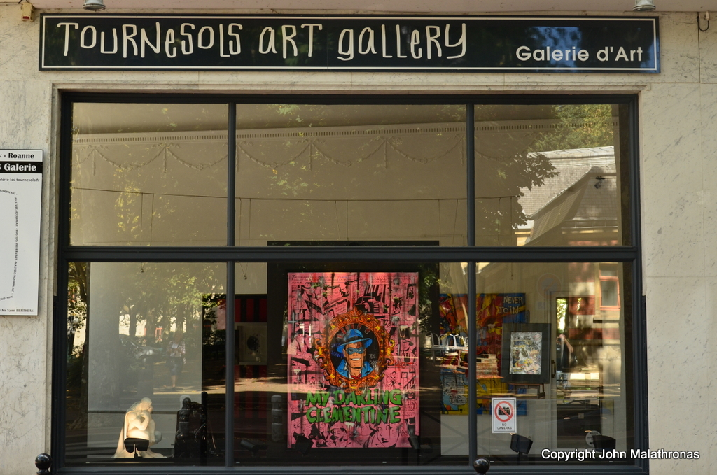 Art Gallery: English first, French second