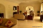 Stuart Pearce's living room