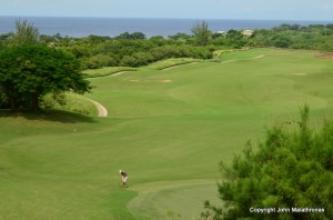 The Royal Westmoreland golf course