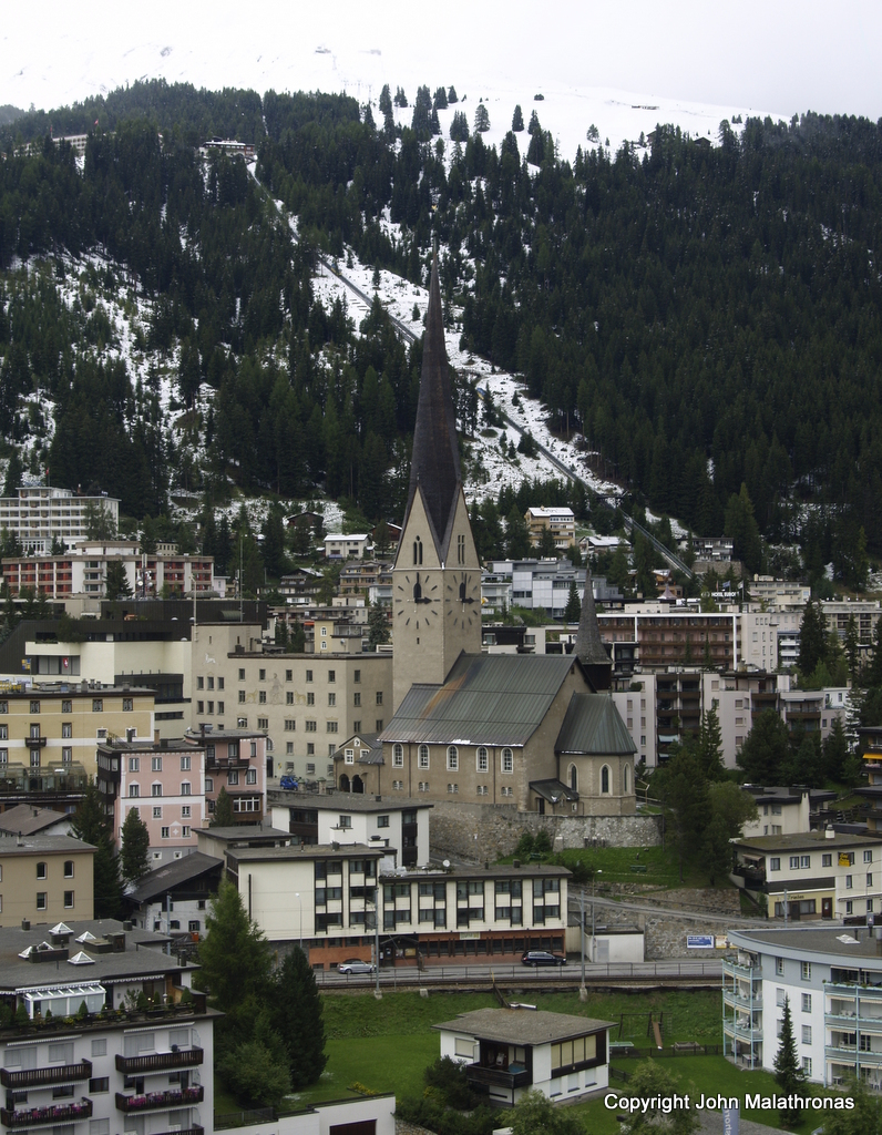 A view of Davos, Switzerland