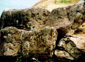 Easter Island petroglyphs