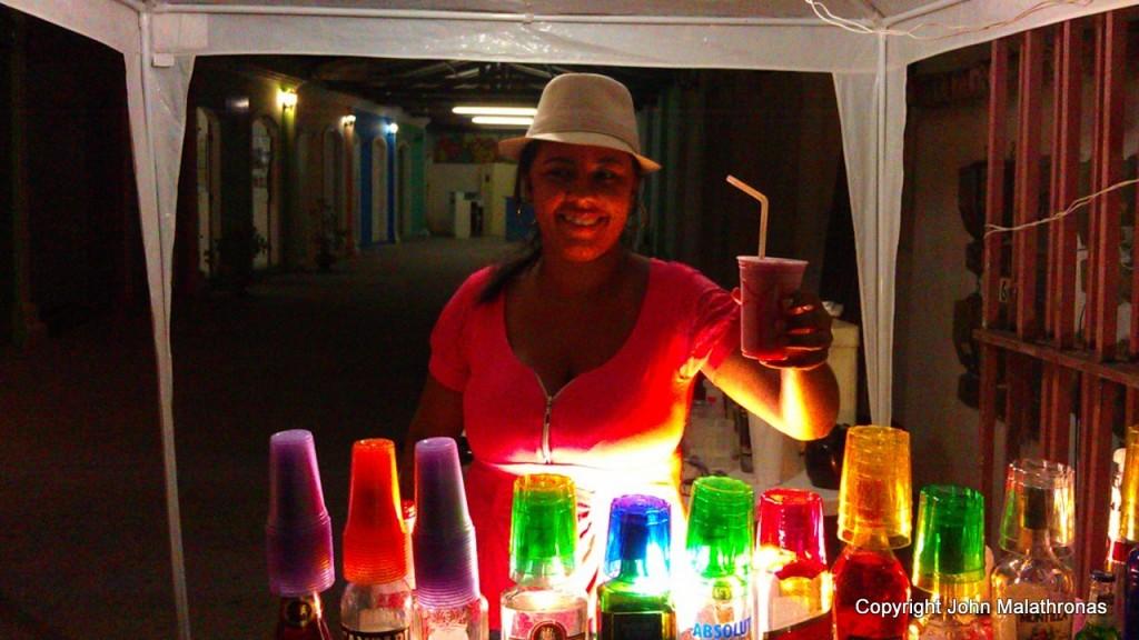 Daniela Mercury cocktail Porto Seguro Brazil