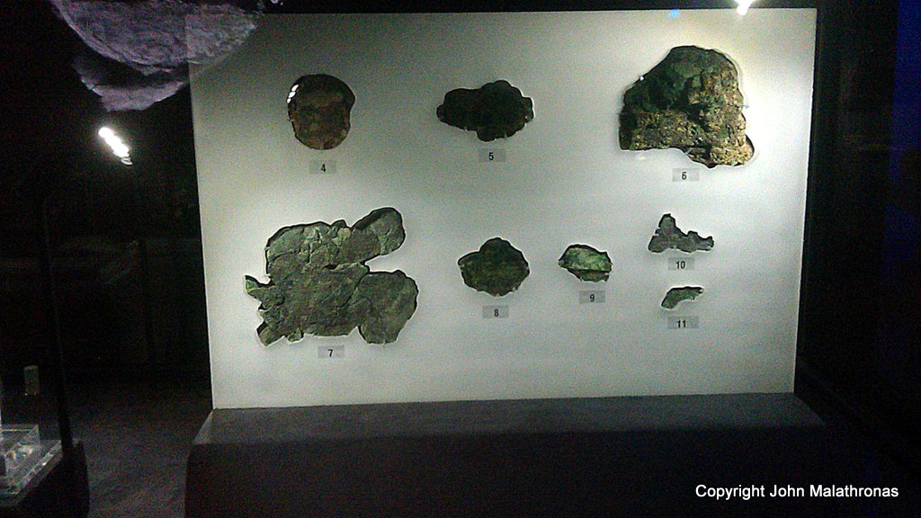 Fragments D-L , Antikythera mechanism