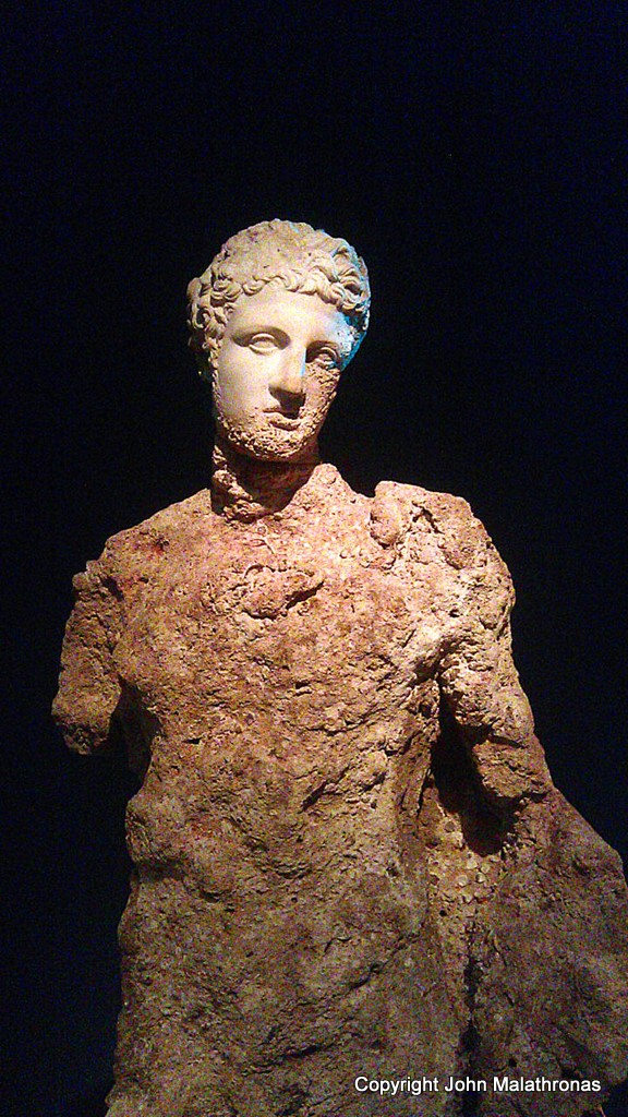 Statue of Hermes from the Antikythera wreck, Parian marble.