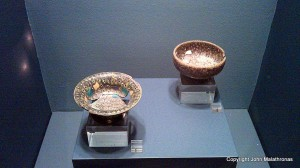 Multicoloured glass bowls, Antikythera wreck