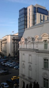 view from my window, Grand Continental Bucharest