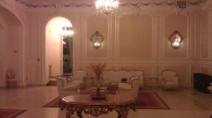 The lobby Grand Continental Bucharest