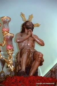 Jesus on a paso, Semana Santa, Seville