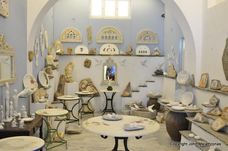 A Tinian artist's contemporary studio