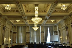 Just another meeting room in the parliamentary palace, Bucharest