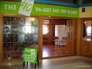 NZ Men do not go to hairdressers