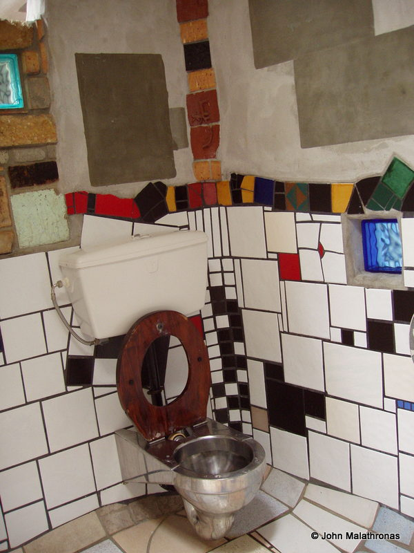 Hundertwasser female toilet