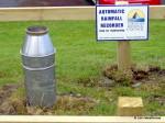 Flood warning sign, taranaki