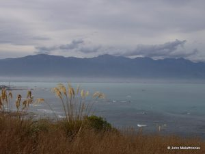 View of the mountains of Kaikoura