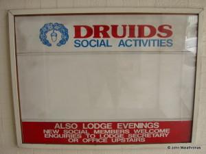 Druids and Masons share a club in Christchurch