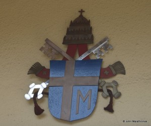 Pope John Paul II's arms